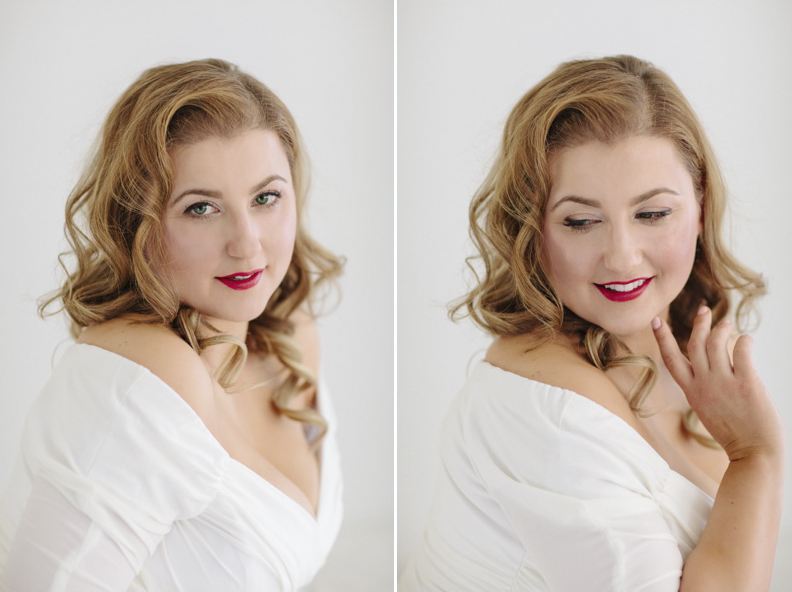 plus size boudoir photography