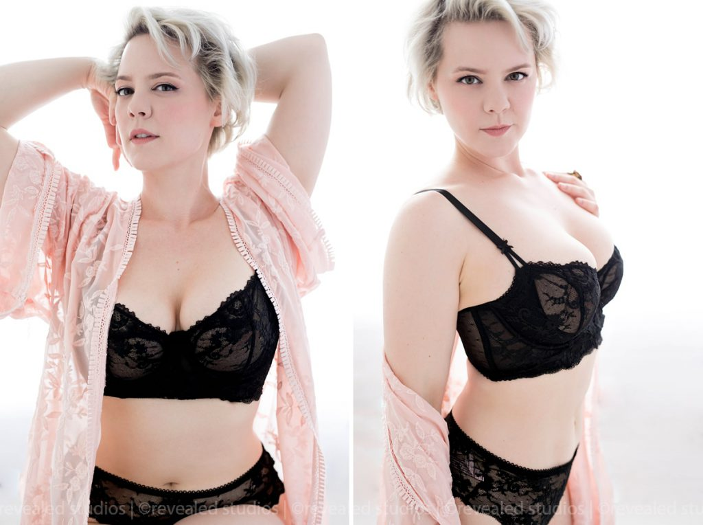 curvy figured boudoir photography