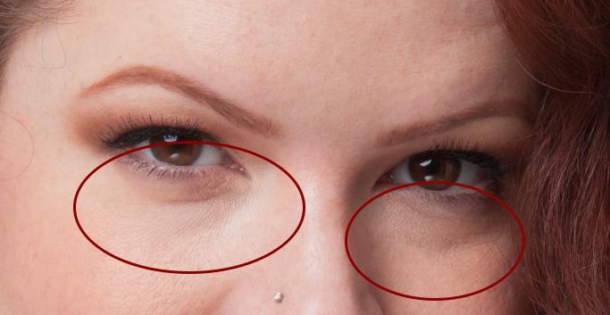 portrait photography retouching tutorial example