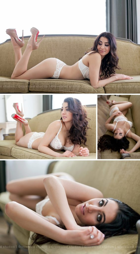 bridal boudoir photos