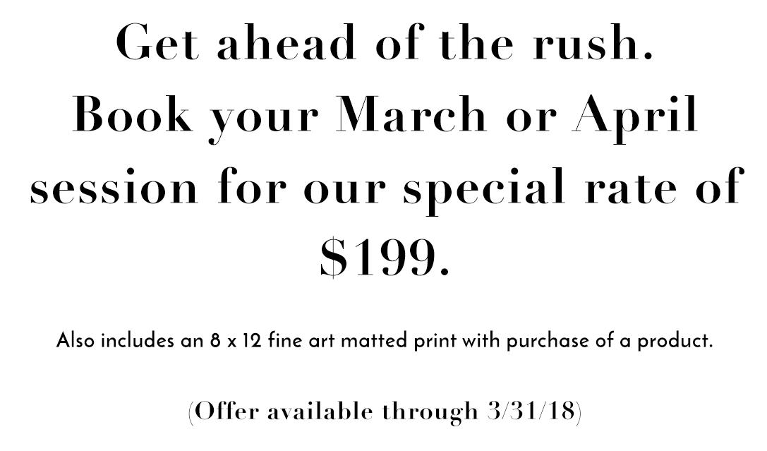 boudoir photoshoot deal