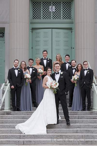 science and industry museum wedding photos