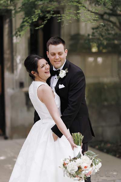 university of chicago wedding photos